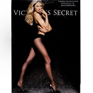 Victoria's Secret Control Top Pantyhose Silky
